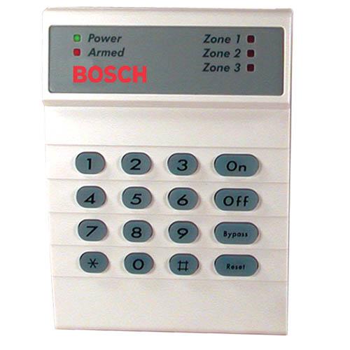 Teclera Alarma Bosch